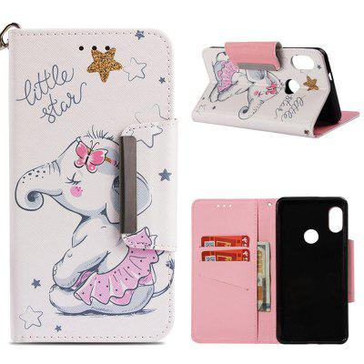 Magnetic Leather Flip Wallet Phone Case For Xiaomi Redmi Note 5 Pro Cover