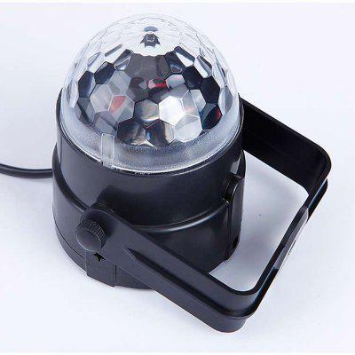 Mgy-015 Tricolor 3W Sprachsteuerung Magic Ball