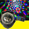 Mgy-018 tricolor 3W voice control remote controlled magic ball vehicle - BLACK