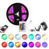 YWXLight 5M 3528SMD RGB Waterproof LED Light Strip  24 Key WIFI Controller Plug - MULTI-C