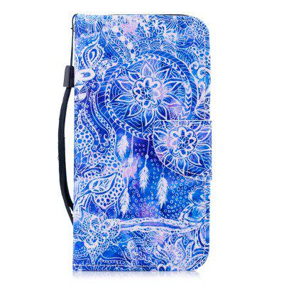 Color Painting Wallet Cover for Samsung Galaxy J7 2017 J730 Case (EU Version)