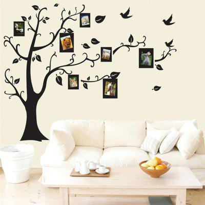 Beautiful Photos Tree PVC Wall Stickers Can Remove Wallpaper