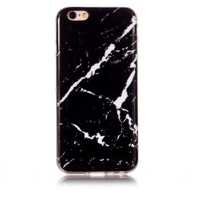 Black Rough White Marble for iPhone 6/6 S
