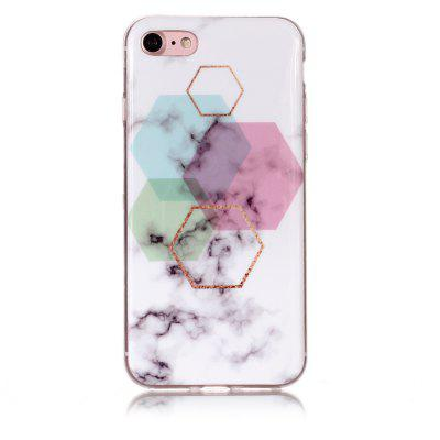 Hexagonal Marble for iPhone 7/8