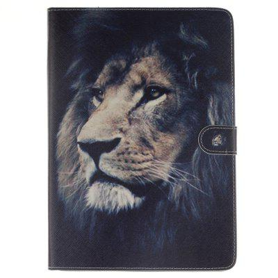 Lion Flat Leather Case for iPad Air