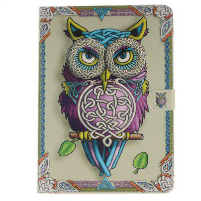 Owl Flat Leather Case for iPad Air