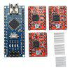 CNC Shield V4+ With Nano 3.0 A4988 3 Axis Stepper Motor Driver Board For Arduino - MULTI