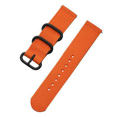 Quick Release Nylon Canvas Fabric Band Strap voor AMAZFIT 2 Stairs Watch