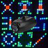 Music LED DJ Disco Stage Light Laser Lamp Party Projector Bar Wedding Lighting - BLACK