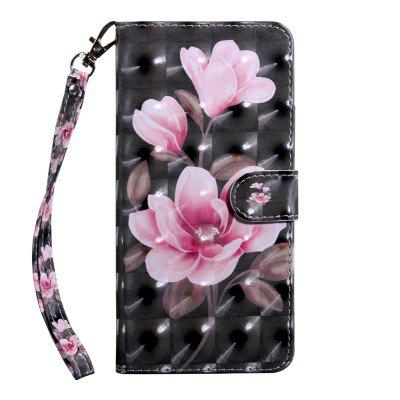 Luxury Stand Wallet Leather Flip Case for LG K8 2018