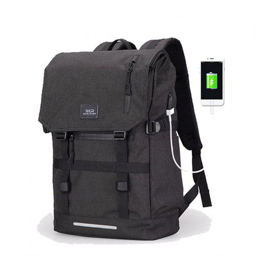 MARKRYDEN Computer Bag College Student Bag Male Large Capacity Backpack