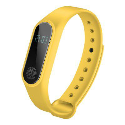 Heart Rate Blood Pressure Health Monitoring IP67 Waterproof Smart Bracelet