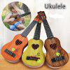 Mini Ukulele Simulation Guitar Kids Musical Instruments Toy - DARK ORANGE