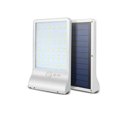 Solar LED white without pole outdoor  garden garden waterproof wall lamp