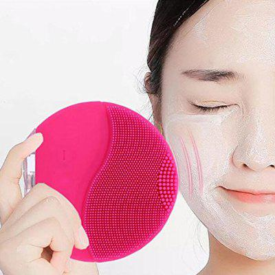Ultrasound Cleaning Brush Waterproof Silica Gel Face Massager