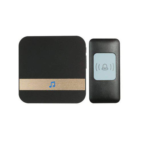 Wireless Doorbell Remote Door Bell Kit UP to 300M Range with 52 Chimes by  Elimi
