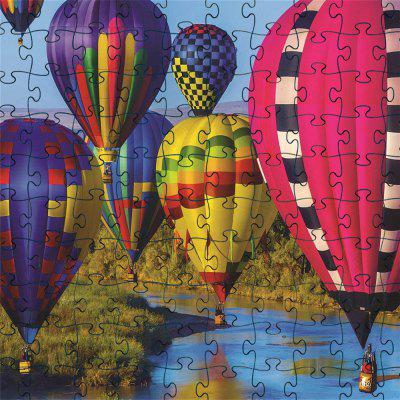 3D Jigsaw Paper Colorful Ball Puzzle Block Assembly Birthday Toy
