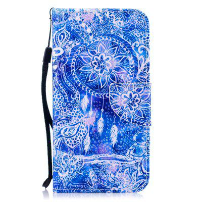 Color Painting Flip Wallet Cover for Samsung Galaxy S6 Phone Case