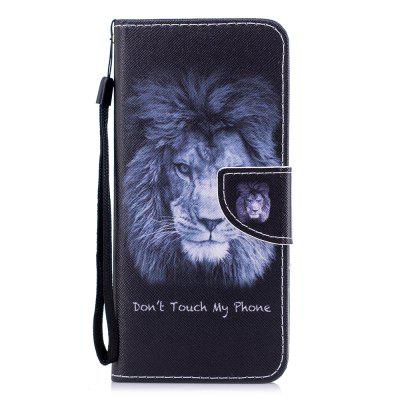 Color Painting Flip Wallet Cover for Samsung Galaxy S8 Plus Phone Case