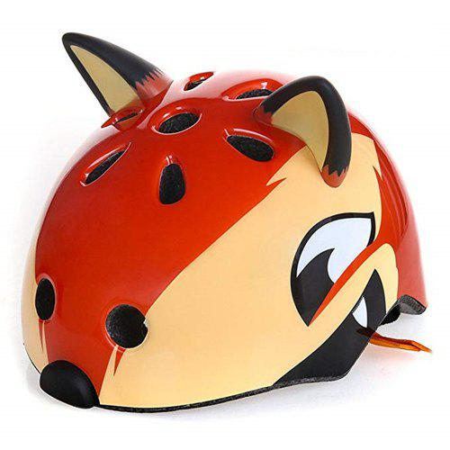 Fatty Kids Boys/Girls 3D Cartoon Animal Multi-Sport Bike Helmet