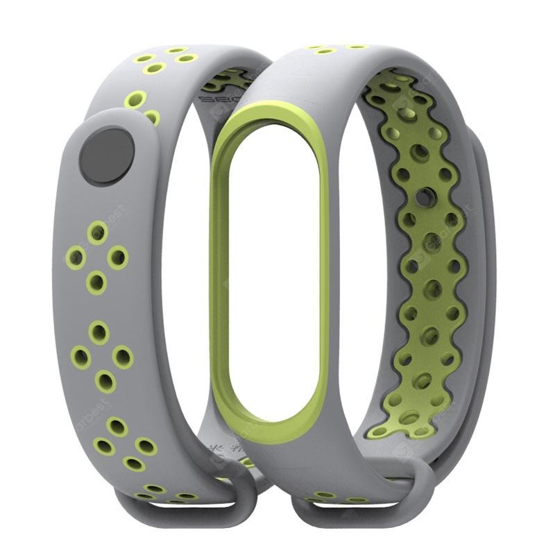 20MM Waterproof Sport Silicone Rubber Watch Strap Band For Xiaomi Mi Band 3