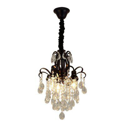 HZ-090 CPA Recommends Creative 3 Crystal Chandeliers-220V with Light Source