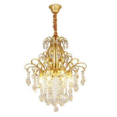 HZ-090 CPA Recommends Creative 6 Crystal Chandeliers-220V with Light Source