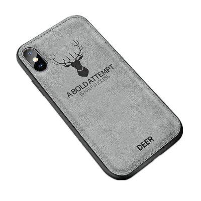 Christmas Deer Cloth Cases For Ultra Thin Soft Silicone For Iphone X