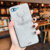Christmas Deer Cloth Cases For Ultra Thin Soft Silicone For Iphone 8 - GRAY