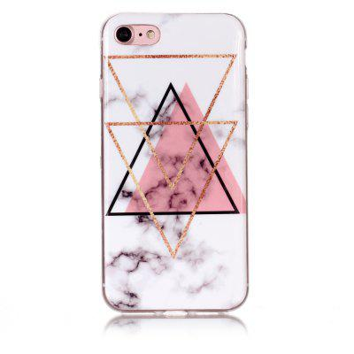 Inverted Triangle Powder Marble for iPhone 7/8