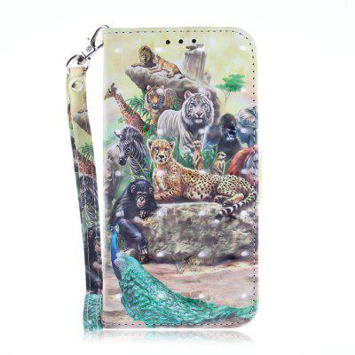 Zoo Leather Case Phone Case for iPhone X/XS
