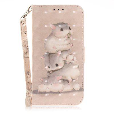 Three Squirrel Leather Case for iPhone X/XS