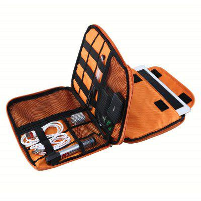 Portable Electronics Waterproof Cable Organizer Storage Bag Digital Accessories