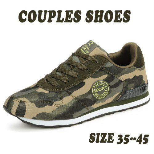062d8101a102d Unisex Couples Camouflage Shoes Mens Comfortable Tennis Shoes Casual  Sneakers Sh   Gearbest