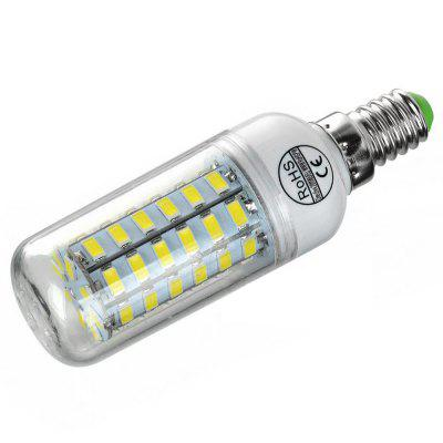 E14 8W LED Corn Bulb Lamp 56-SMD 5730 (AC 220)