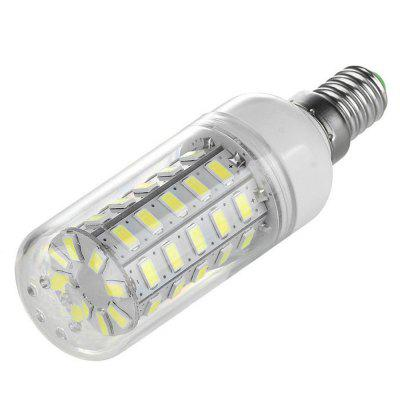 E14 7W LED Corn Bulb Lamp 48-SMD 5730 (AC 220)