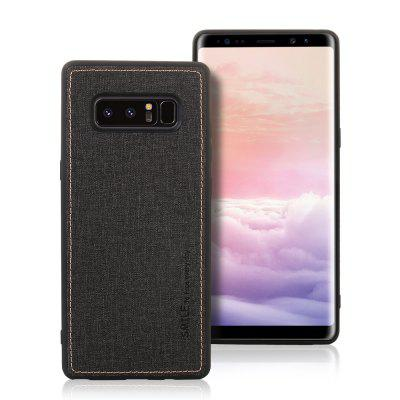 Fabric Four-Sided Car Phone Case for Samsung Note 8