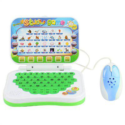 Chinese and English Early Education Puzzle Learning Machine with Mouse Toy