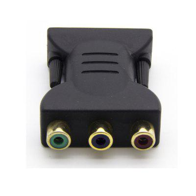 24+5 DVI Color Difference Component Adapter