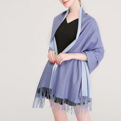 Cashmere Double-Sided Scarf Top Quality Women Designer Fashion Soft Shawl