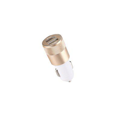 Binch E6-tractor Aluminum Alloy Car Charger 2.1A