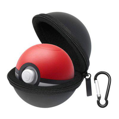 Orzly Poke Ball Carry Case para Nintendo Switch Poke Ball Plus com Chaveiro