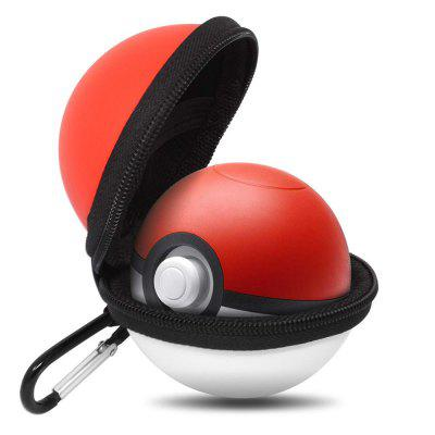 Orzly Poke Ball Carry Case for Nintendo Switch Poke Ball Plus with Keychain