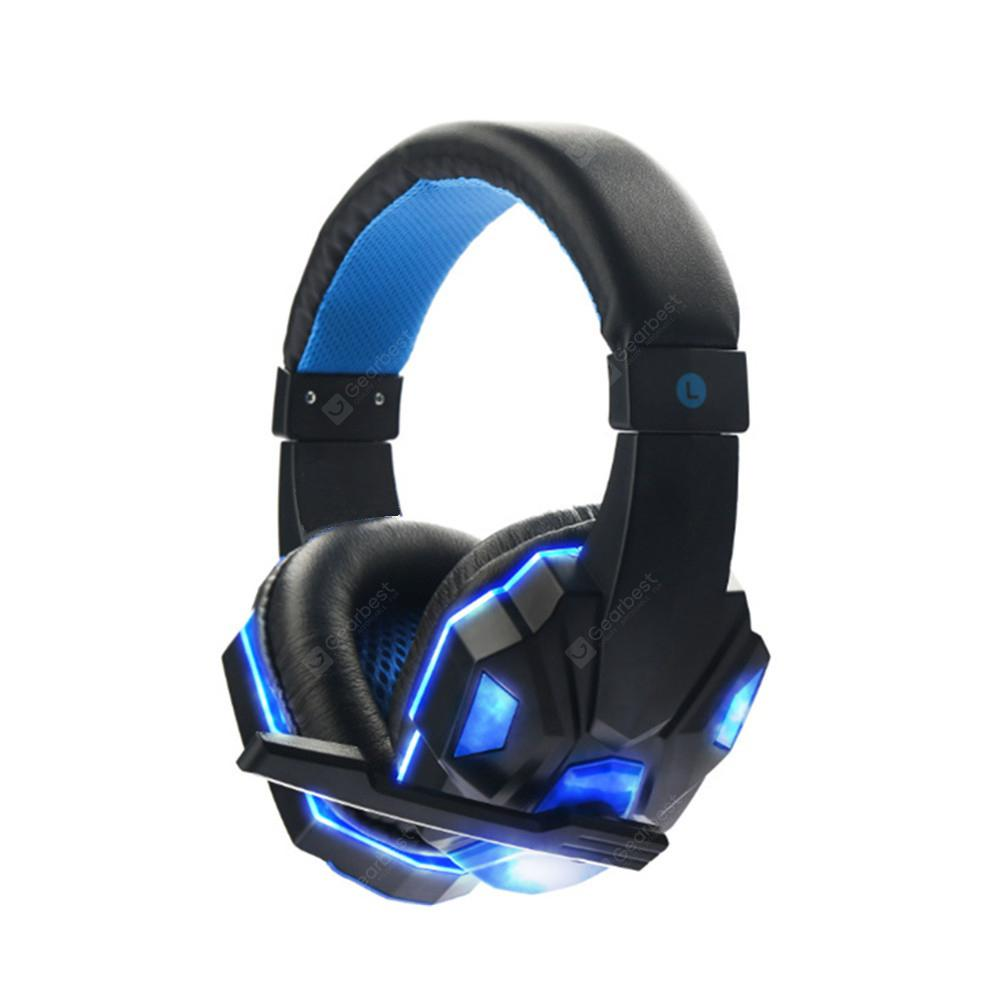 58eda401ef708a Stereo Gaming Headset for PS4 Xbox One PC Bass Over-Ear ...
