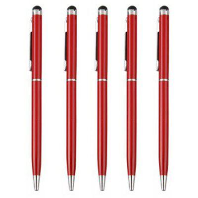 SZKINSTON Red Touch Screen Stylus BallPoint Capacitive Pen for All Phone Tabl