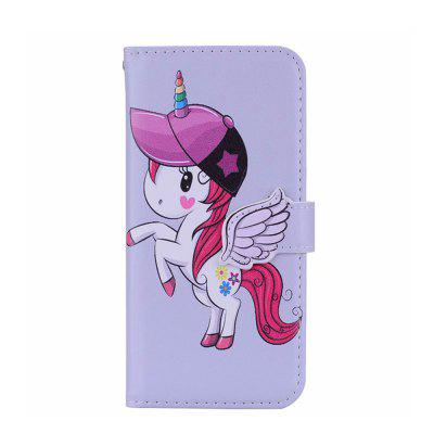 Yeshold for Huawei P20Lite Angel Buckle Unicorn Mirror Phone Protective Cover