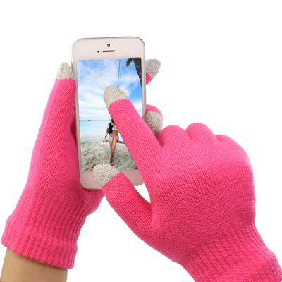 Winter Wool Touch Screen Gloves