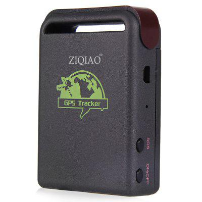 ZIQIAO TK102B Car GPS Tracker Locator - BLACK