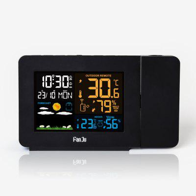 FanJu FJ3391 Color Weather Station with Projection / Weather Monitor Clock only $29.99