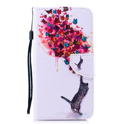 Color Painting Flip Wallet Cover voor iPhone 7 Plus / 8 Plus telefoonhoesje
